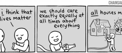#AllLivesMatter (not)