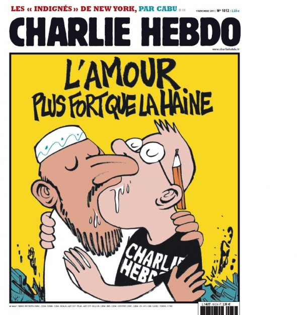 Charlie Hebdo – Liefde is sterker dan haat