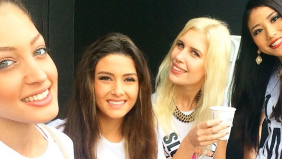 Miss Israël maakt selfie met Miss Libanon: iedereen boos
