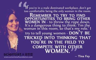 Tina Fey: vrouwen moeten vrouwen helpen