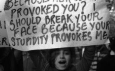 Puike spandoeken over verkrachting